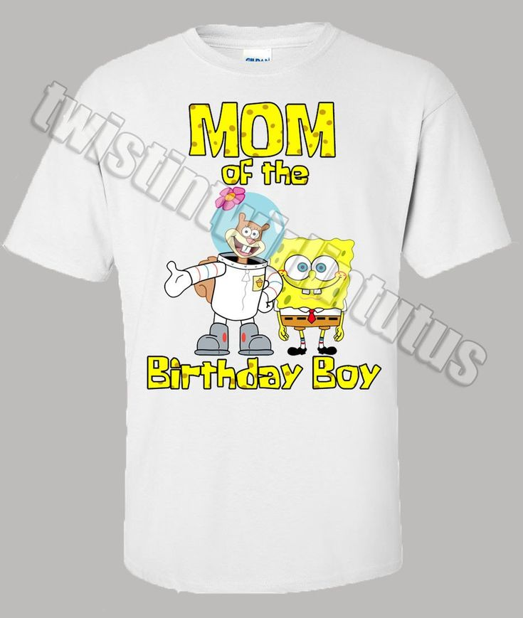 Spongebob Mom Shirt                                                                                                                                                                                 More