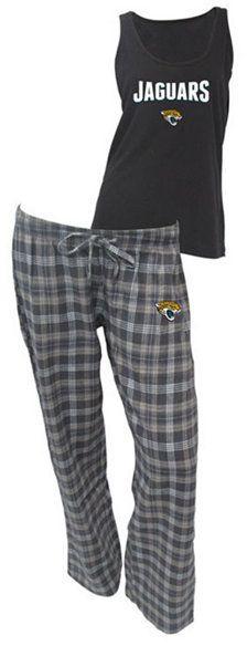 College Concepts Women's Jacksonville Jaguars Tank and Pajama Pants Set
