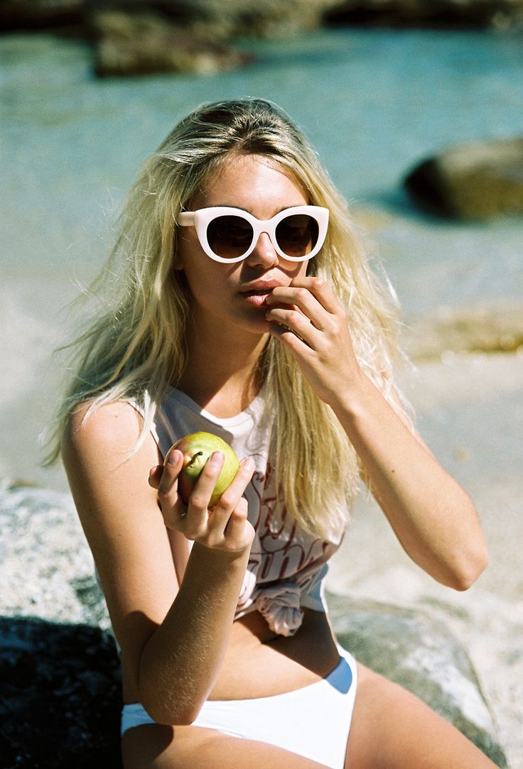AMUSE X D'BLANC |  The Modern Lover Sunglasses in Blush. Danika Pienaar photographed by Cameron Hammond in South Africa.