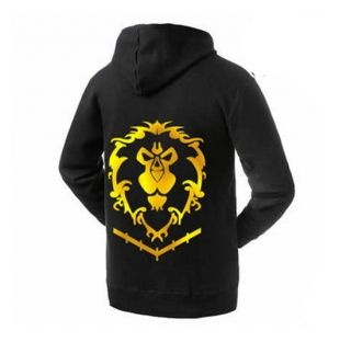 World of Warcraft Alliance printed sweatshirts cheap hoodies for men