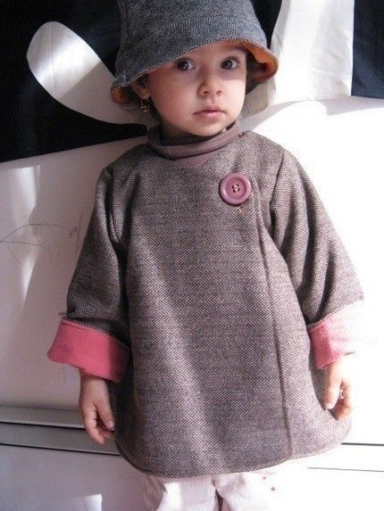 Mademoiselle coat - PDF pattern - 12m to 4T-. $6.00, via Etsy.