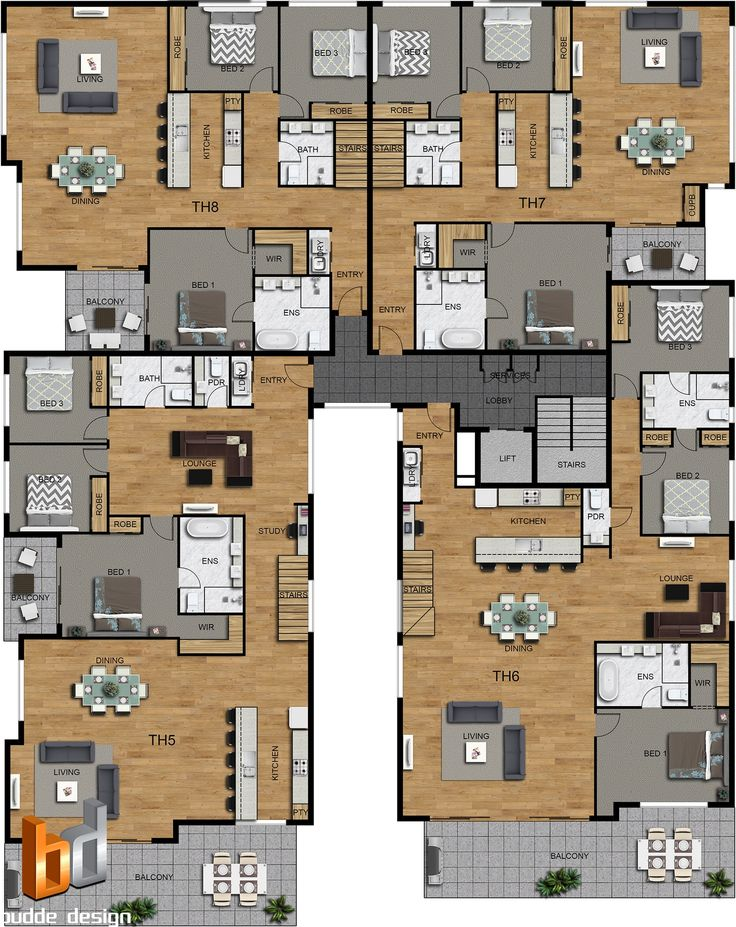 314 best apartment complex images on pinterest for Apartment site plan