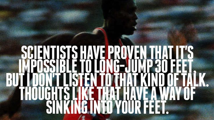 Carl Lewis Quotes  http://goodnessdetermined.com/wisdomisms-carl-lewis-click-here/