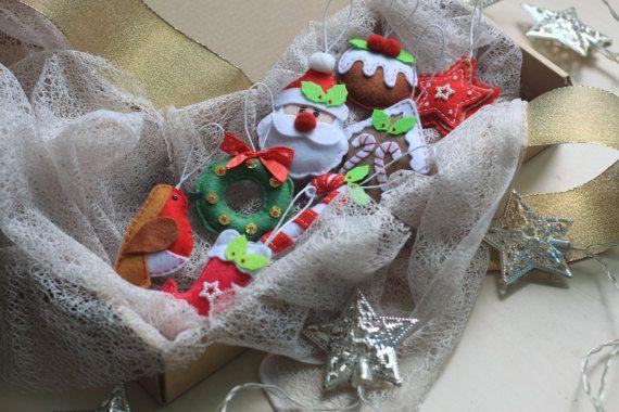 Navidad árbol de Navidad de casa de pan de jengibre de Santa