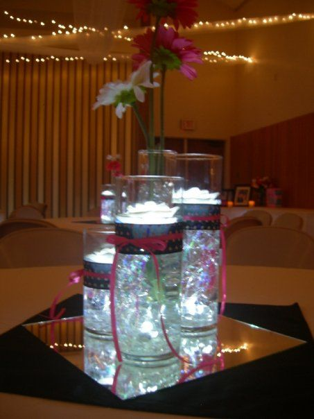 Centerpiece ideas and Weddings