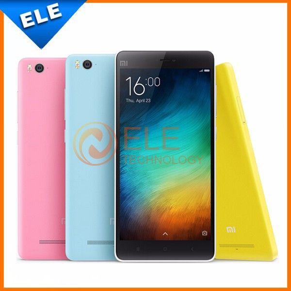 """Original Xiaomi Mi4i Mobile Phone 5.0"""" 1920x1080P Qualcomm Octa Core 2GB RAM 13MP Android 5.0 Xiaomi Mi 4i Phone"""