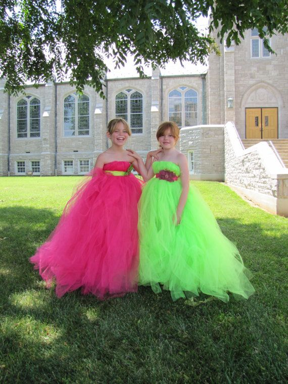 Pink and Green Wedding Dress_Wedding Dresses_dressesss