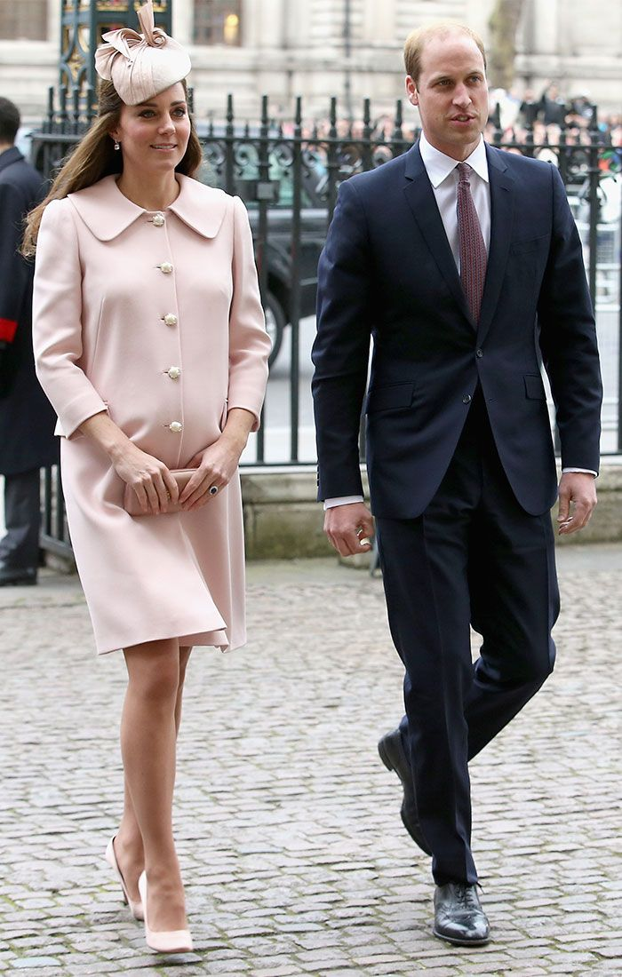 La Duquesa de Cambridge, Kate Middleton, espectacular en palo de rosa