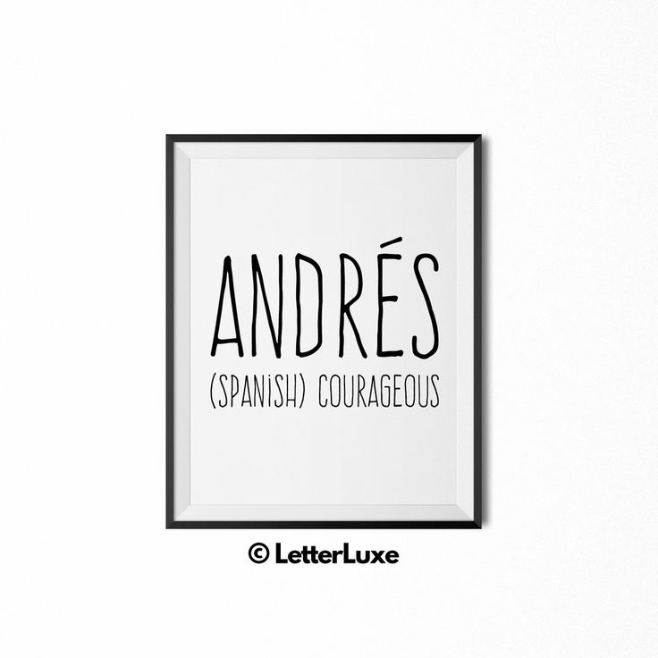 30 best last minute gift ideas for men images on pinterest baby andres name meaning art printable bedroom decor personalized baby giftsnursery negle Choice Image