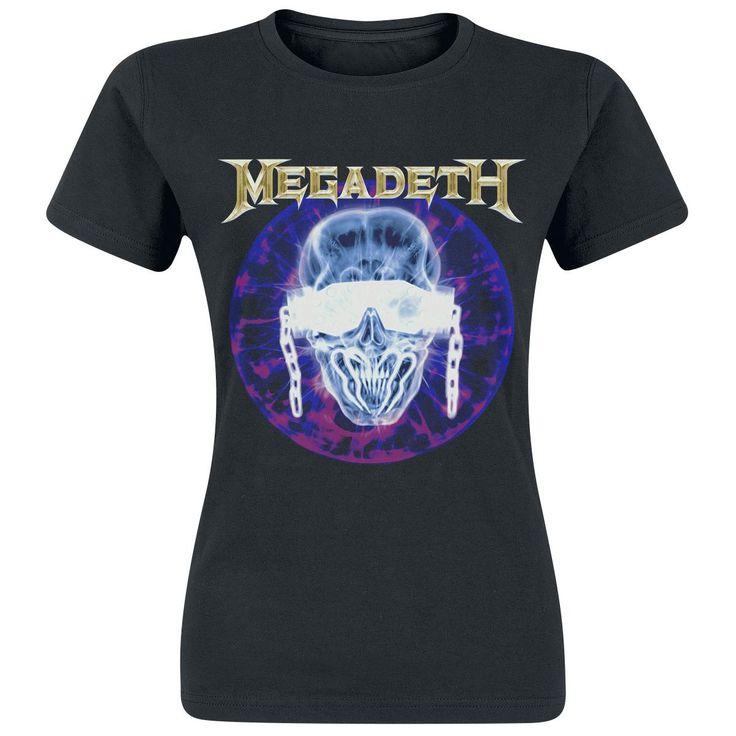 Megadeth T-skjorte -X-Ray- -- Kjøp nå hos EMP -- Mer Band merch T-skjorter tilgjengelig online - Uslagbare priser!