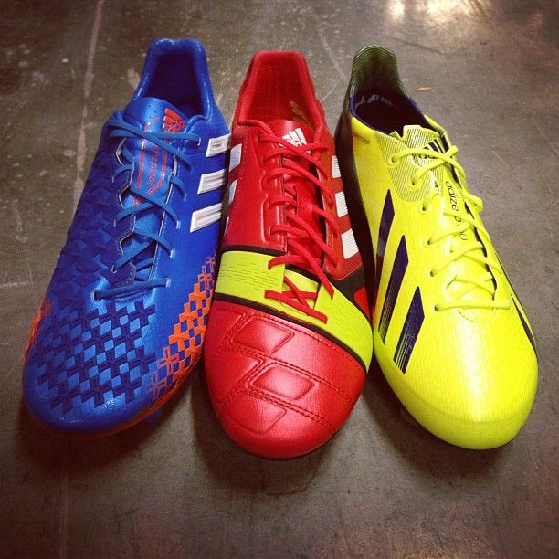 New adidas Soccer Cleat Colors. Find them at SOCCER.COM.