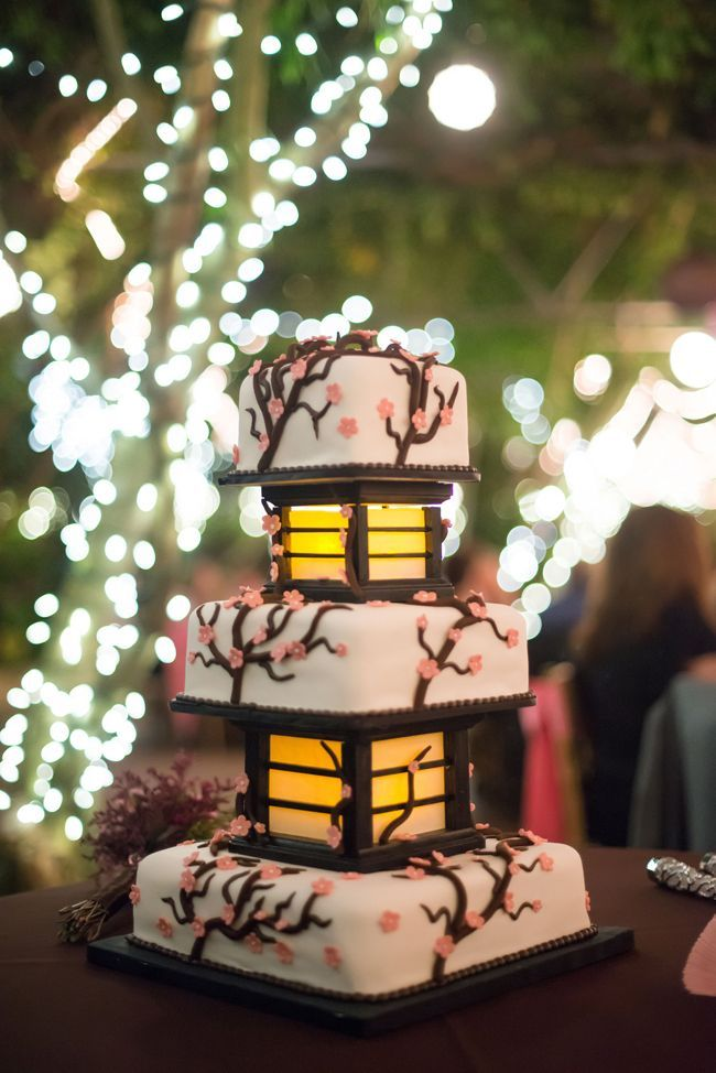 gateau de mariage japon