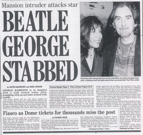 The attempted murder of George in 1999