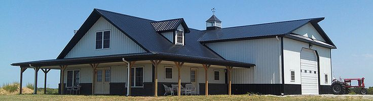 pole barn with shop floor plans - Google Search