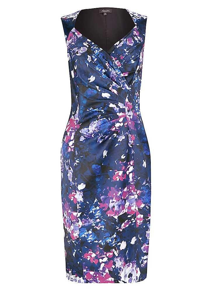 Alexon Cross Front Sateen Dress #ShiptoShore