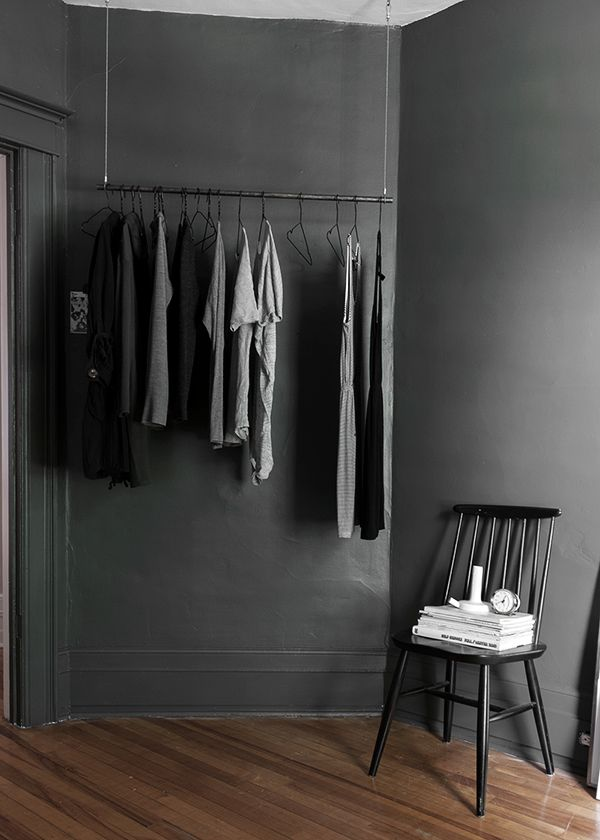 grey bedroom | (my) unfinished home