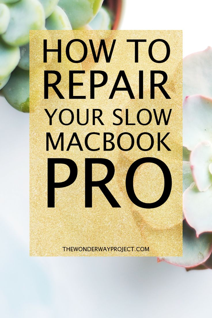 How to fix your slow Macbook Pro without breaking the bank. An easy-to-follow step-by-step guide to repairing and reviving your old Macbook Pro. ---> Click through to the blog to read the guide and revive your Macbook Pro!