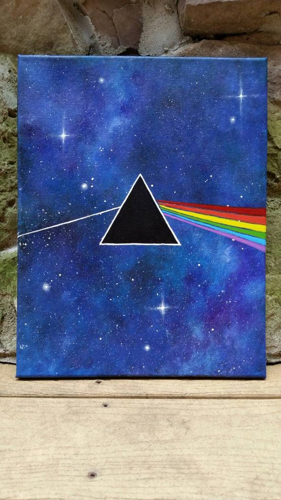 Check out this item in my Etsy shop https://www.etsy.com/listing/261348470/pink-floyd-painting-dark-side-of-the