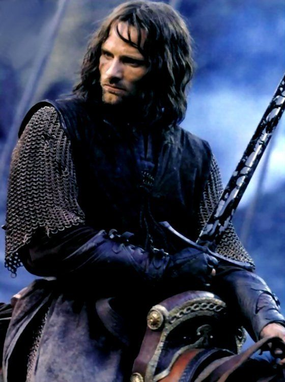 "Viggo Mortensen/Aragorn: ""Lord of the Rings""-Silver Screen Star/Movie & Film Star/Actor Celebrity"