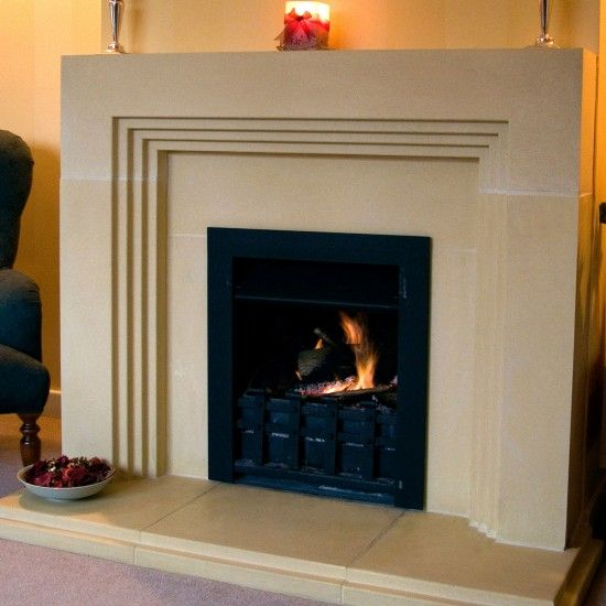 Deco by Haddonstone | Fire surrounds - 10 of the best | Fireplaces | Heating | PHOTO GALLERY | housetohome.co.uk