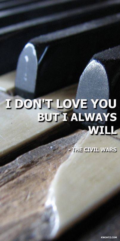THE CIVIL WARS POISON AND WINE LYRICS