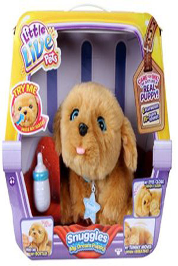 Little Live Pets Snuggles My Dream Puppy Best Fun Baby 2018 Little Live Pets Puppy Soft Toy Snuggles