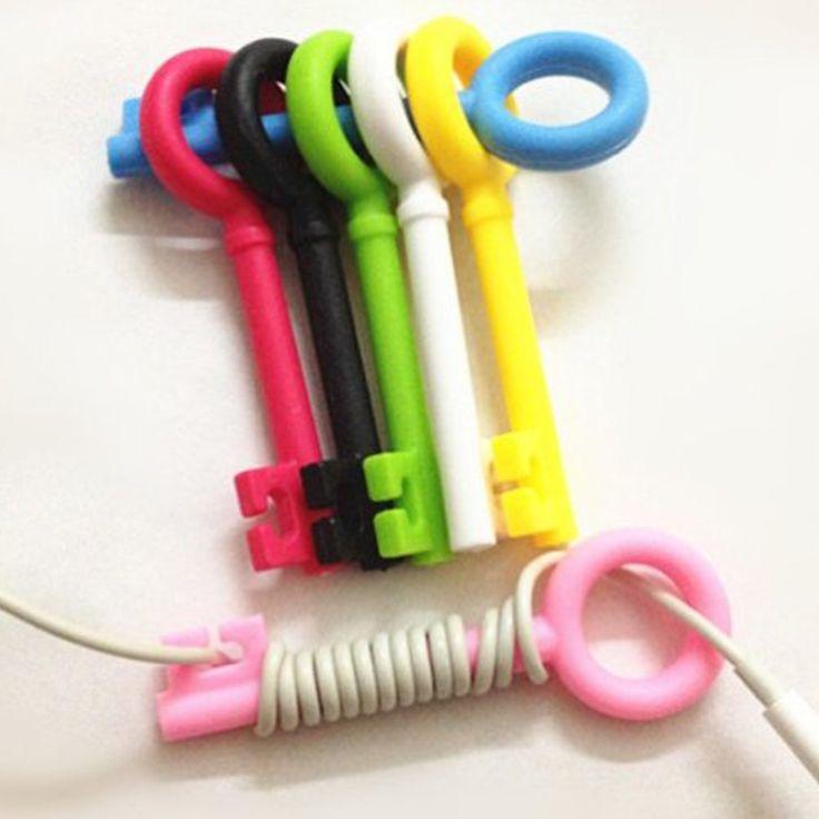 Earphones organizer - earphones holder clip
