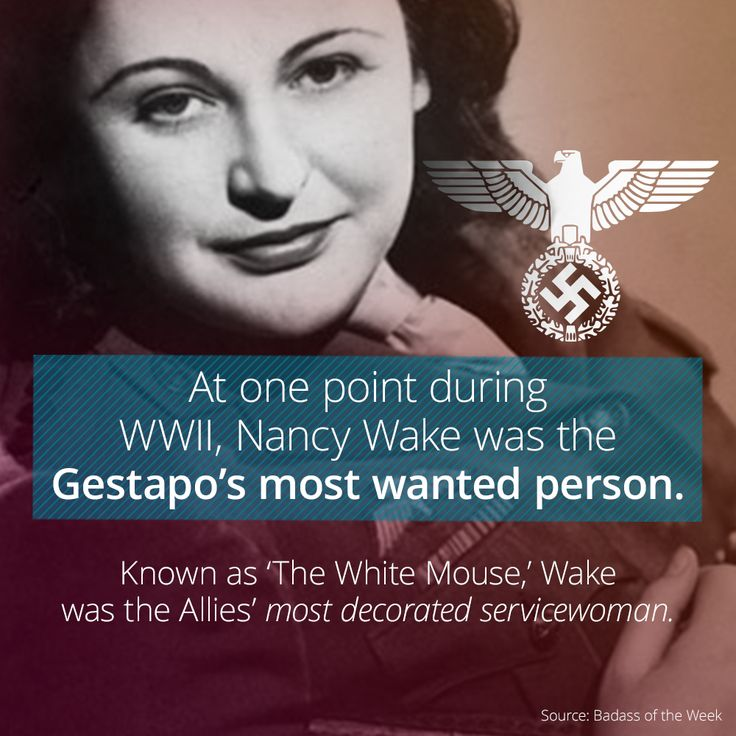How Nancy Wake Became The Gestapo's Most Wanted In WWII