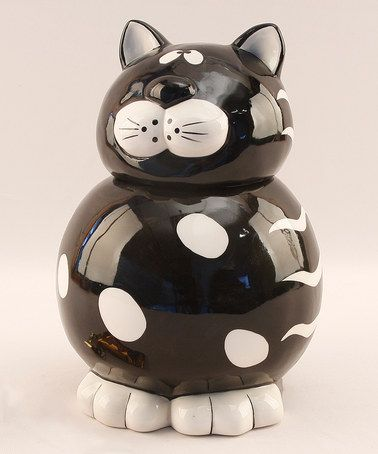 Take a look at this Cat Cookie Jar by Young's on #zulily today!