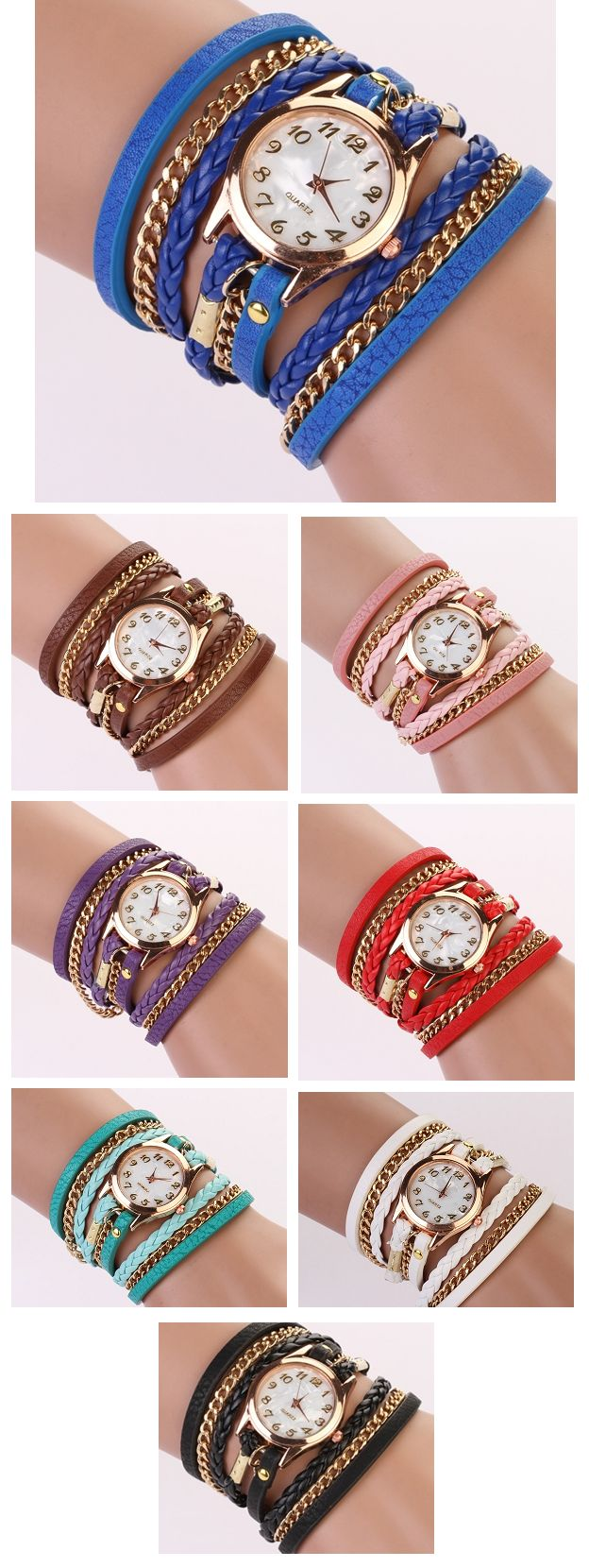 Watch Me Wrist Watch/Bracelet Set
