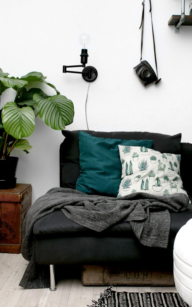 Kaktus pudebetræk (cactus pillow) - Katarina Natalie