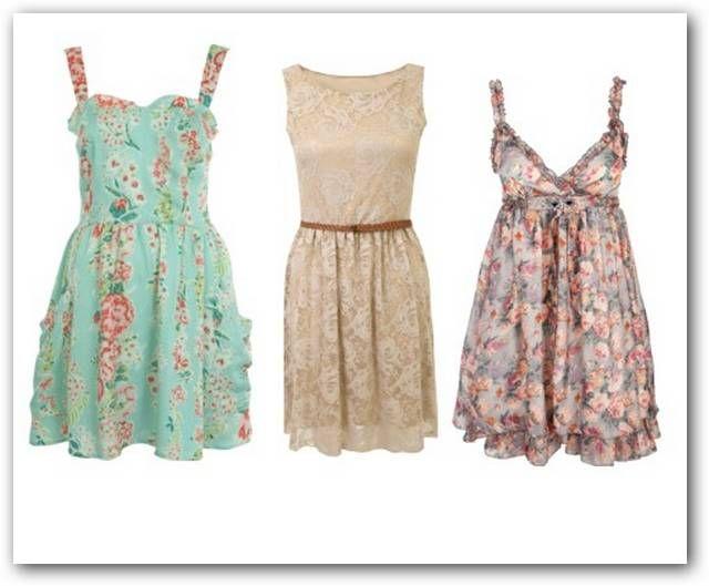 Vestidos Casuales Floreados - Buscar Con Google | Outfits ...