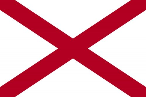 State Flags Of The United States Of America with Alabama Flag