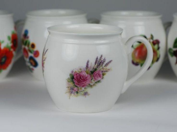 Kubek ćmielowski duży został wykonany z najwyższej jakości porcelany. Pojemność 1 litr.