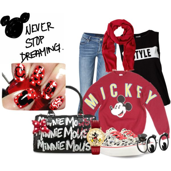 """""""Mickey day ^^"""" by pritasafitri on Polyvore"""