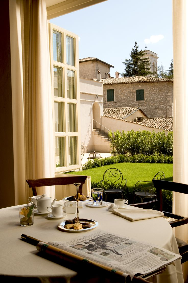 Palazzo Seneca Relais & Châteaux, Norcia (Umbria), Italy http://charmhotelsweb.com/en/hotel/IT041