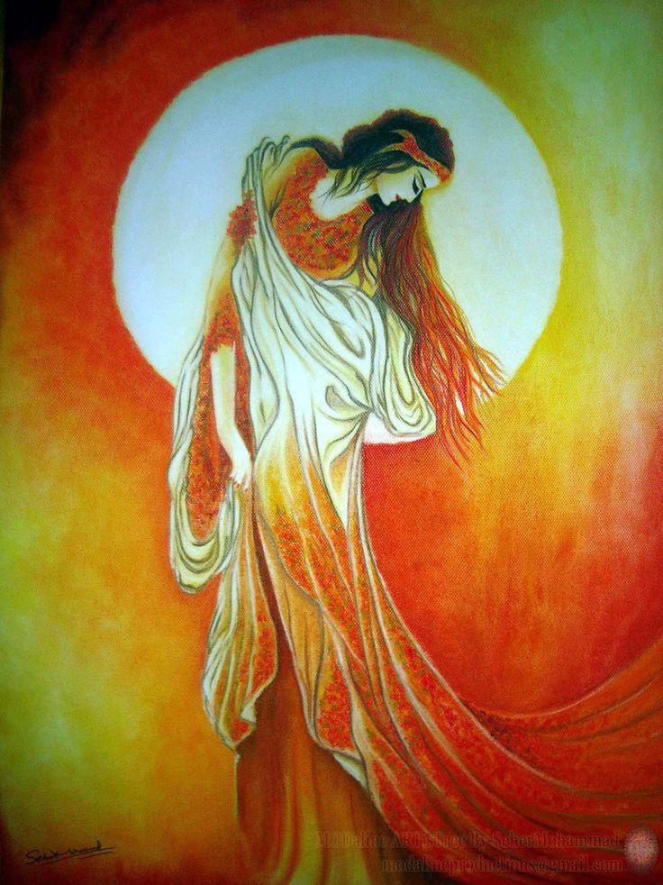 The Lamp of Silence-Original Painting by MODalineARTisTree.deviantart.com on @DeviantArt