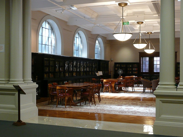Cervantes Collection, Friends Room, Mitchell Library, State Library of New South Wales, May 2008. From the State Library of New South Wales: www.sl.nsw.gov.au