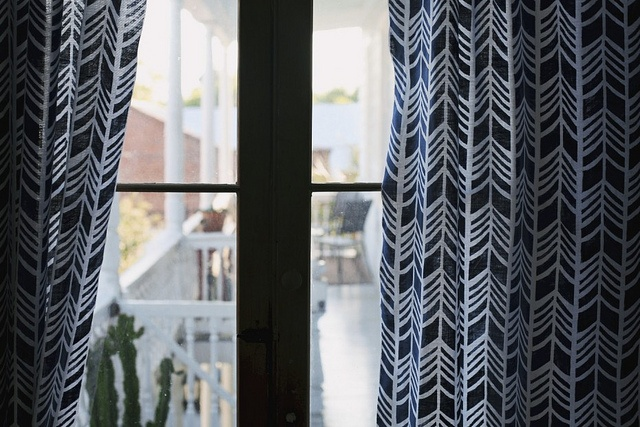 Proud Mary textiles by decor8, via Flickr: Prints Patterns, White Curtains, Boys Rooms, Mary Textiles, Fabrics Patterns, Bold Curtains, Patterns Curtains, Curtains Fabrics, Chevron Curtains