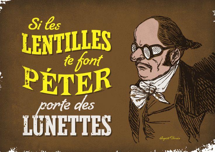 Lentilles - Auguste Derrière
