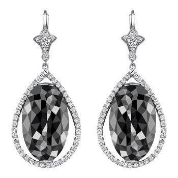 Neil Lane: Jewelry Diamonds, Platinum Earrings, Gala Gowns, Black Gala, Lane Earrings, Black Diamonds Earrings, Earrings When, Fashion Accessories, Families Jewels