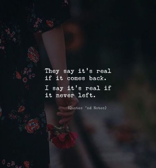 They say it's real if it comes back. I say it's real if it never left. by: Adem Baris —via http://ift.tt/2eY7hg4