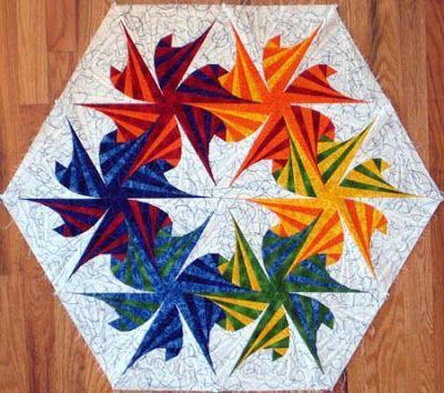 Twisted Triangles Quilt Pattern | Valentine Quiltworks