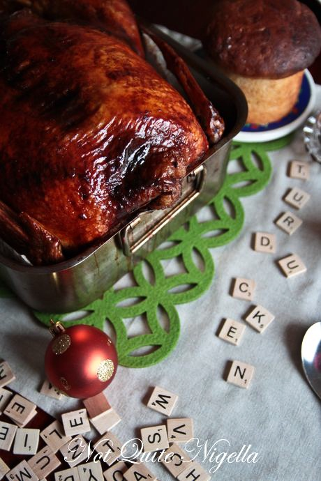 Turducken recipe step by step, Cipaille recipe, Christmas in July @ Not Quite Nigella