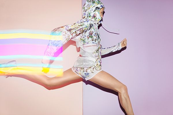 Stella McCartney & Adidas Inspire Us To At Least LOOK Athletic #refinery29 ://www.refinery29.com/stella-mccartney-adidas#slide3