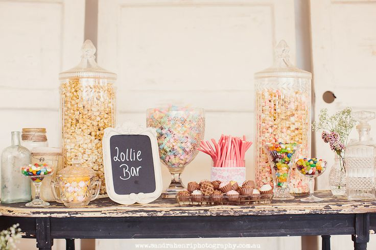 Lolly bar- simple but very pretty