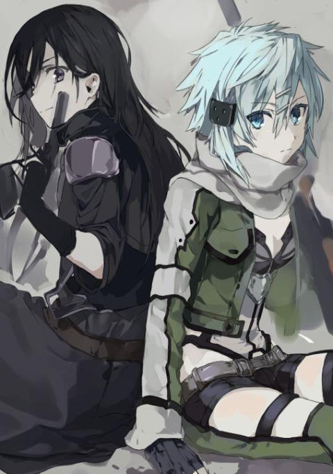 "I NEED THIS TO COME OUT!!! NOOWWWW!!!! [Kazuto Kirigaya ""Kirito"" & Shino Asada ""Sinon""] ~ Sword Art Online/Gun Gale Online"