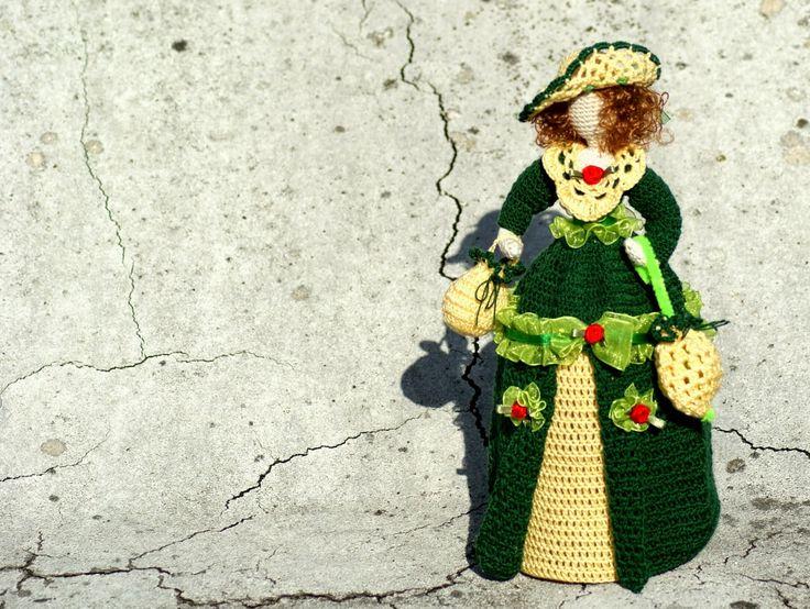 Moje pasje ...: Szydełkowa Dama - Virginie