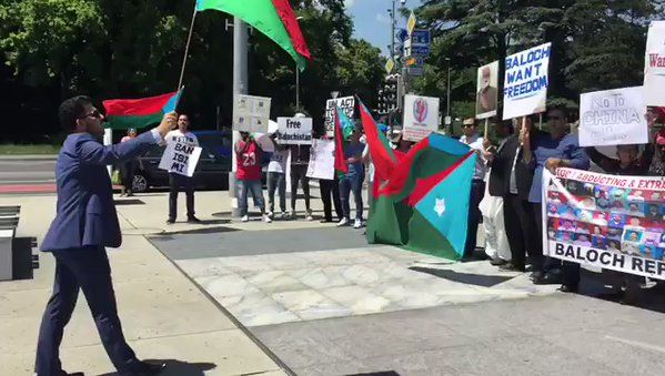 #Media #Oligarchs #Banks vs #union #occupy #BLM #SDF #Humanity  #Baloch protesters chanted slogans such as '#China Must Leave #Balochistan', 'We Want Freedom' during the Protest Demonstration in #Geneva.   https://twitter.com/Andyrockz2012/status/875967061796691969