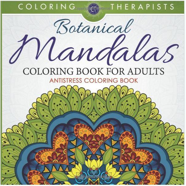 Livre Kindle Botanical Mandalas GRATUIT